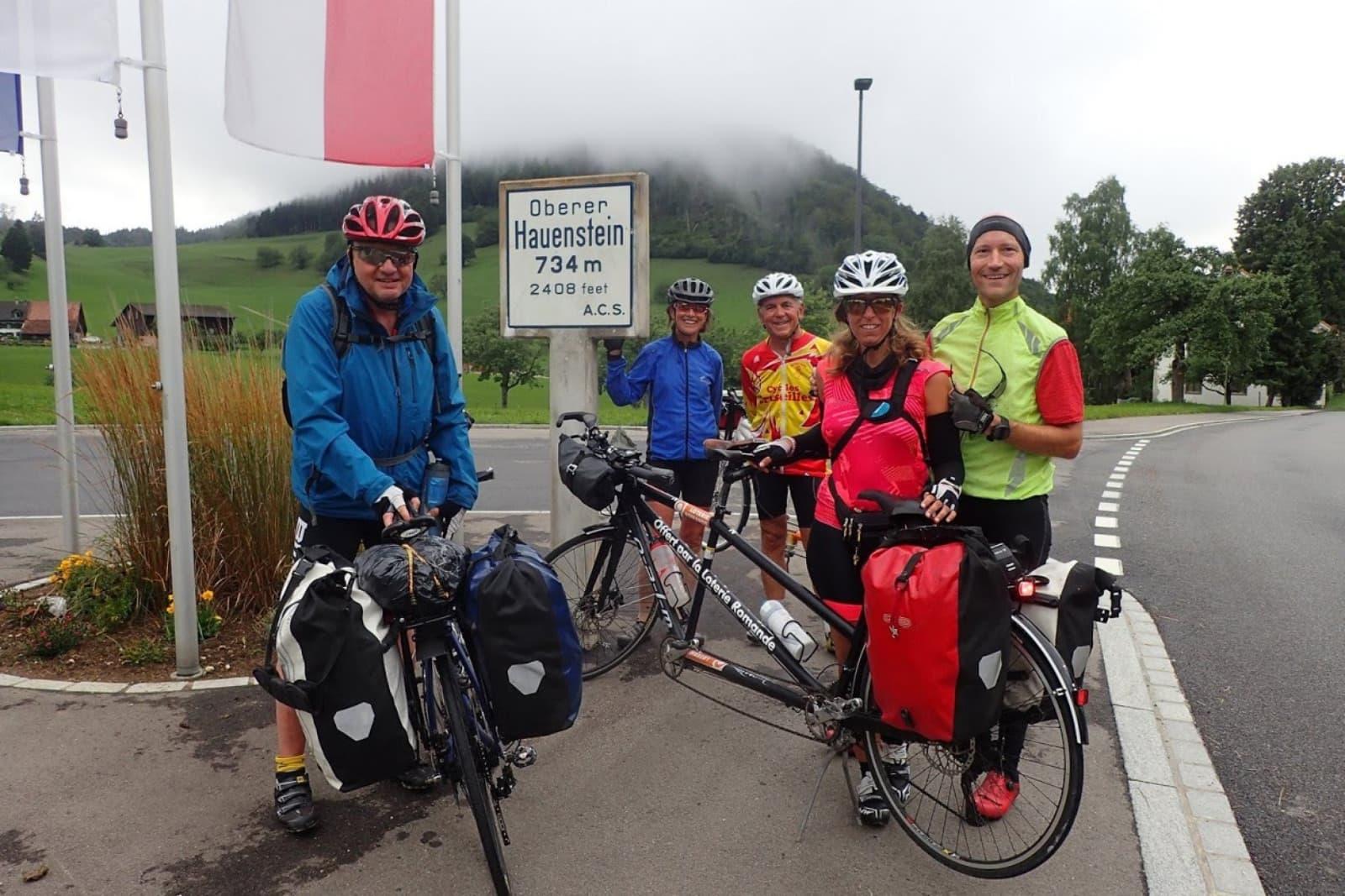 au sommet du Col du Hauenstein