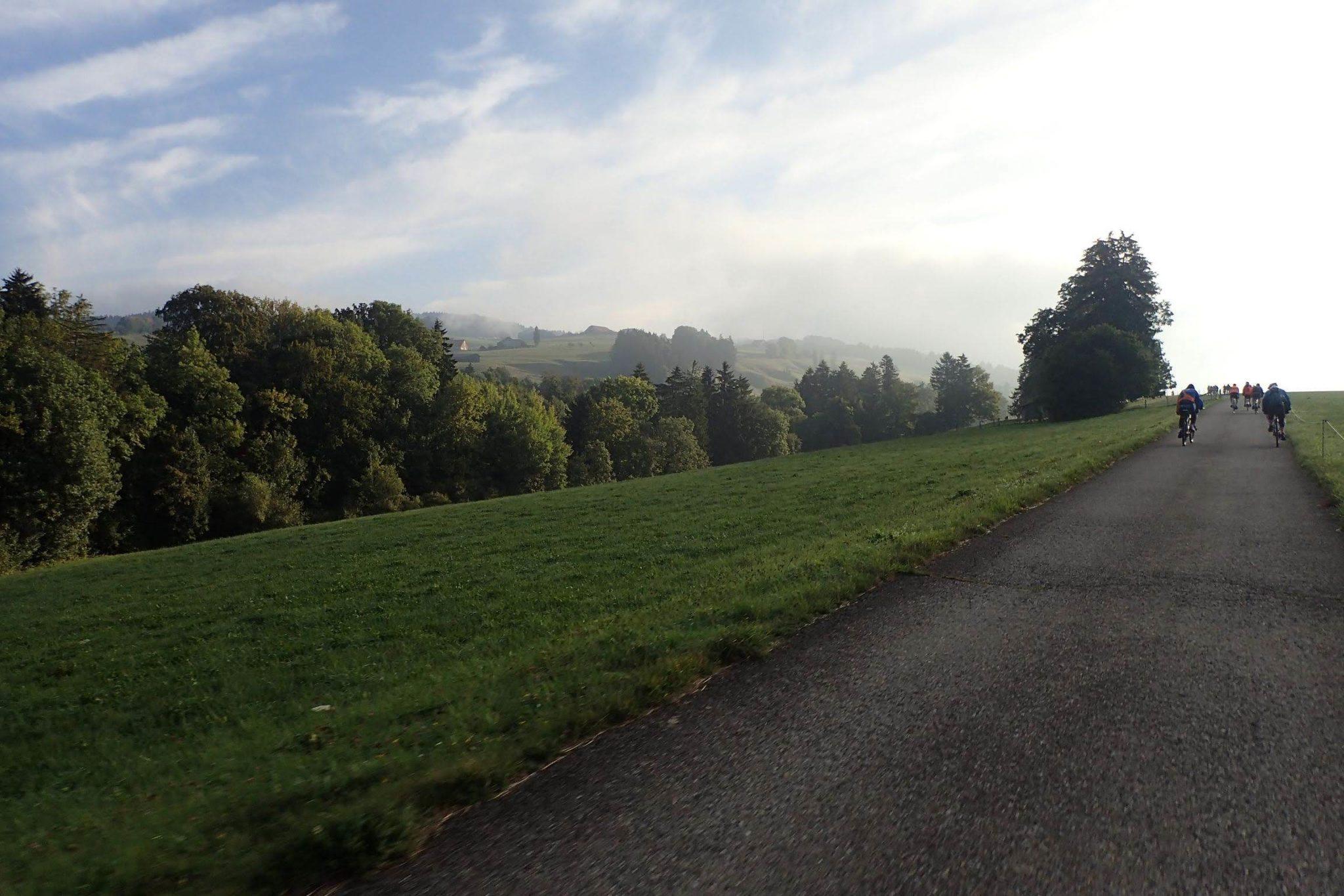 paysage en route