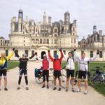 devant le château de Chambord